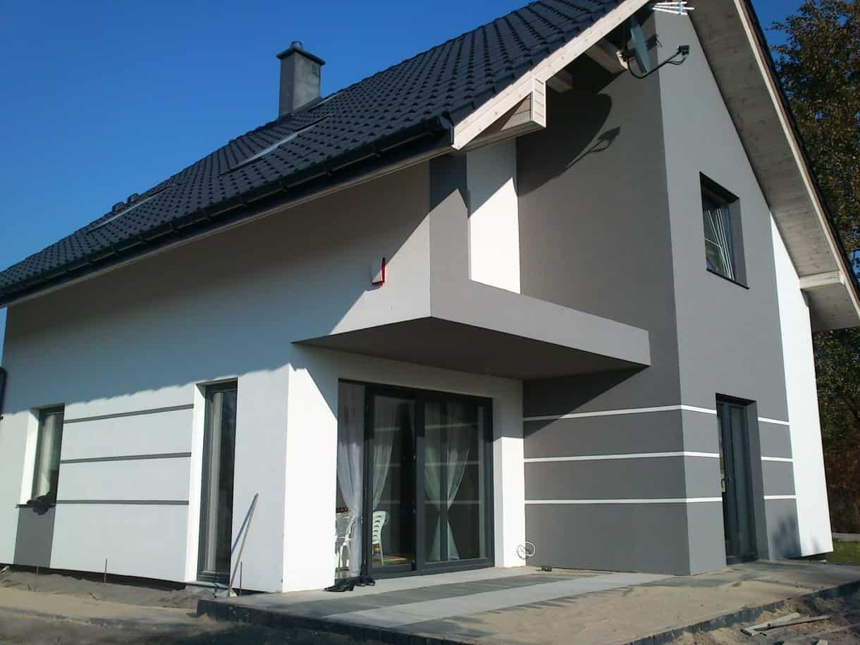 Dach, elewacja, okna hermax 2